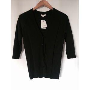 Caslon Cardigan 1/2 Sleeve Sweater